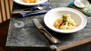 Baked gurnard (courtesy of SBS Taste le Tour)
