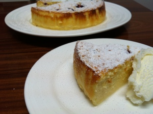 Corsican Cheesecake! Did I say yum?