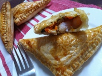 Prawn Turnovers with truffle