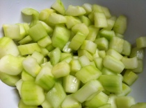 Salty cucumber