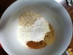 Instant porridge oats with similar texture to 'medium oatmeal'